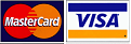 We accept Mastercard & Visa